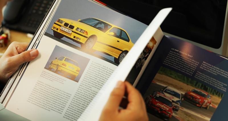 Les 192 pages passent en revue toutes les autos mythiques de Motorsport, ses différents tournants pris au fil des années et sa riche histoire dans le sport automobile. Parle-nous justement de la première M1.