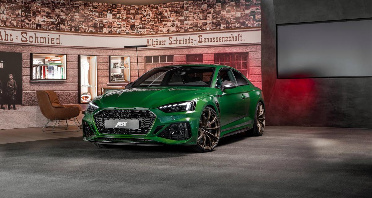Audi RS5 by ABT Sportsline : une émeraude sublimée par le préparateur