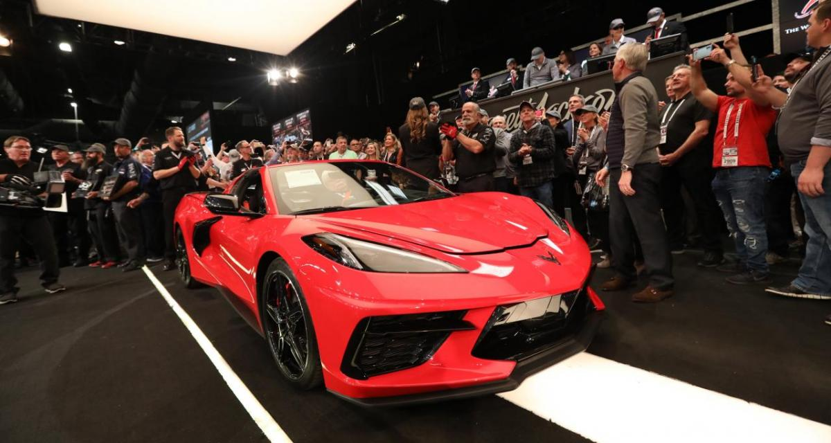 Un rappeur se filme à 252 km/h au volant de sa Corvette