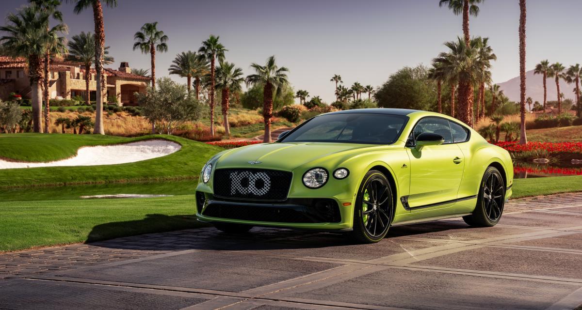 Bentley Continental GT Pikes Peak : succès international pour la série limitée