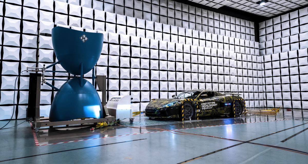 Phase finale de test en labo pour l'hypercar Rimac C_Two