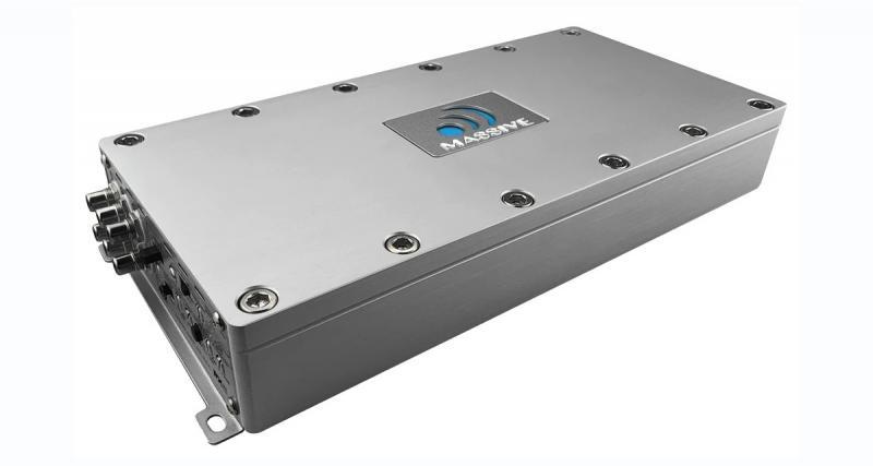 Massive Audio commercialise un nouvel ampli 6 canaux puissant et compact
