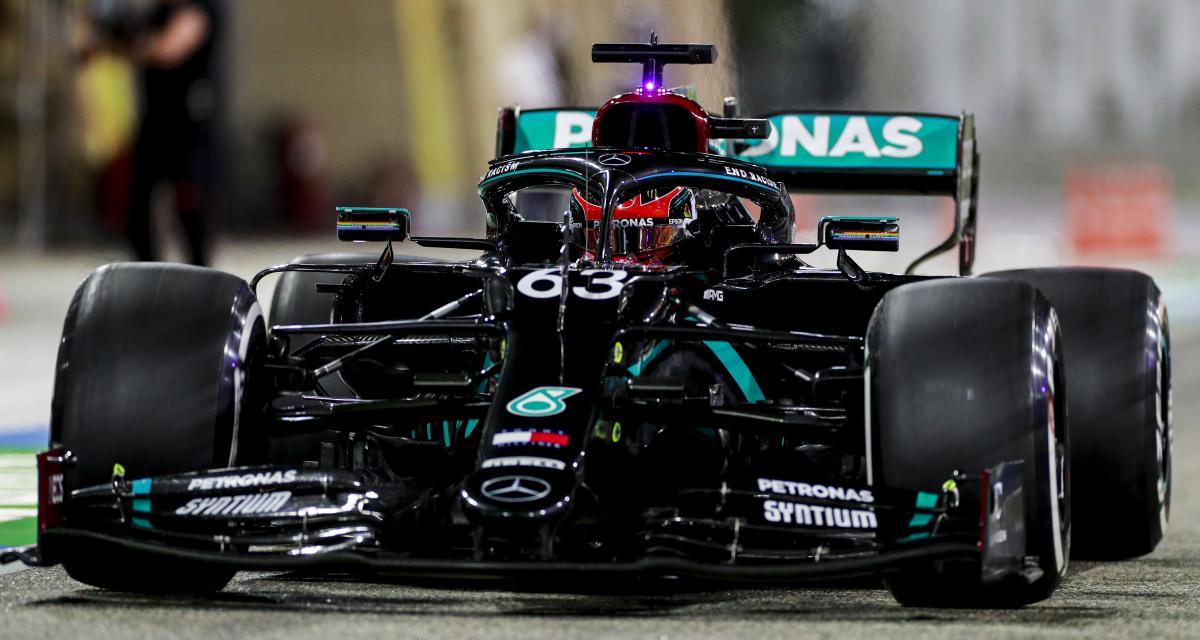 Grand Prix de Sakhir de F1 : la grille de départ