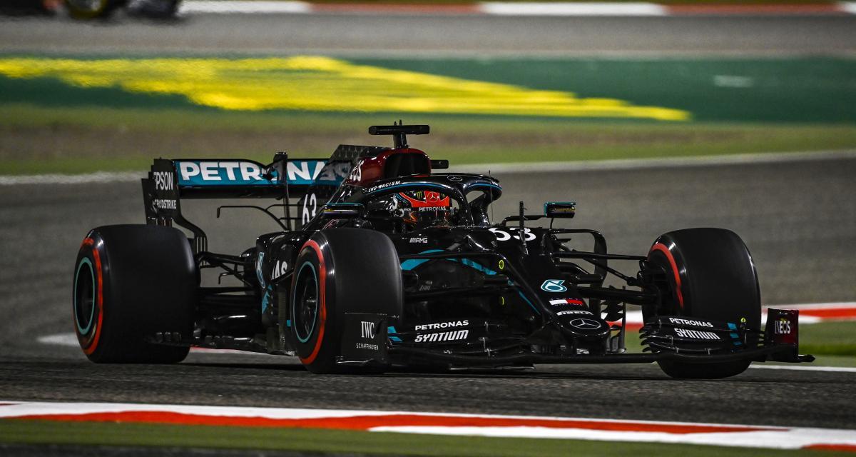 Le départ du Grand Prix de Sakhir de F1 en vidéo
