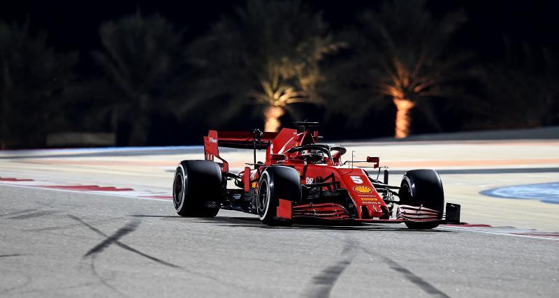 Grand Prix de Sakhir de F1 : l'arrêt aux stands catastrophiques de Vettel en vidéo