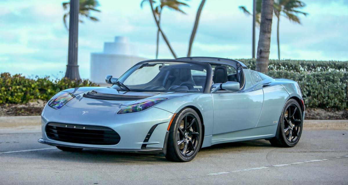 Tesla Roadster : retour sur le tout premier modèle du constructeur