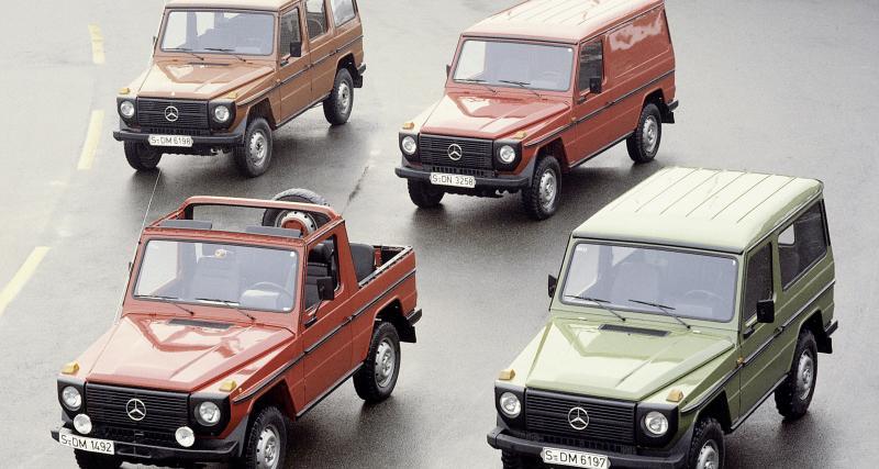 Mercedes Classe G : le mythique tout-terrain allemand en chiffres
