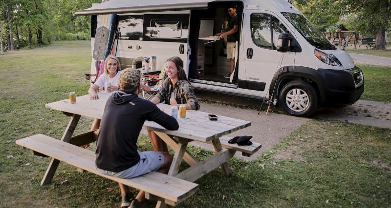 Winnebago Travato : le camping-car puissant et techno