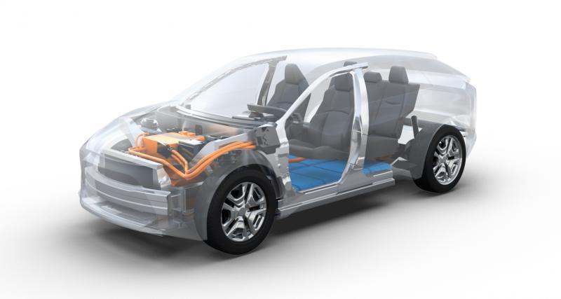 Le premier SUV électrique de Toyota en approche