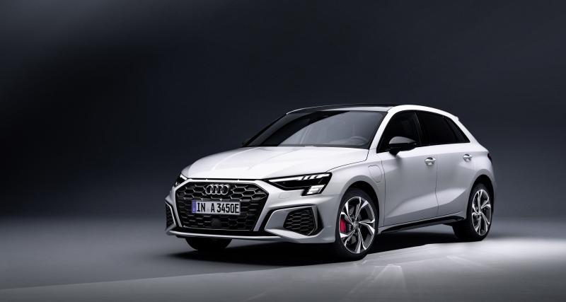 Audi A3 45 TFSI e : nouvelle version hybride rechargeable à partir de 44 440 €