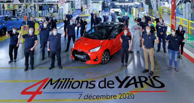 4 millions de Toyota Yaris vendues, le Made in France à la fête