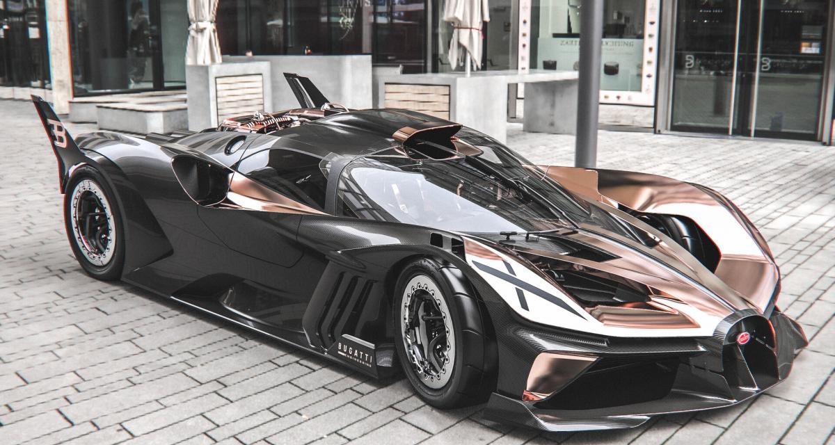 Quand la Bugatti Bolide rencontre Star Wars, cela donne un concept étonnant mais magnifique
