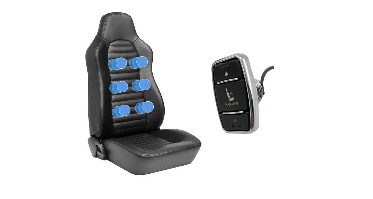 Accele Electronics commercialise un système de sièges massant pour améliorer le confort d'un youngtimer