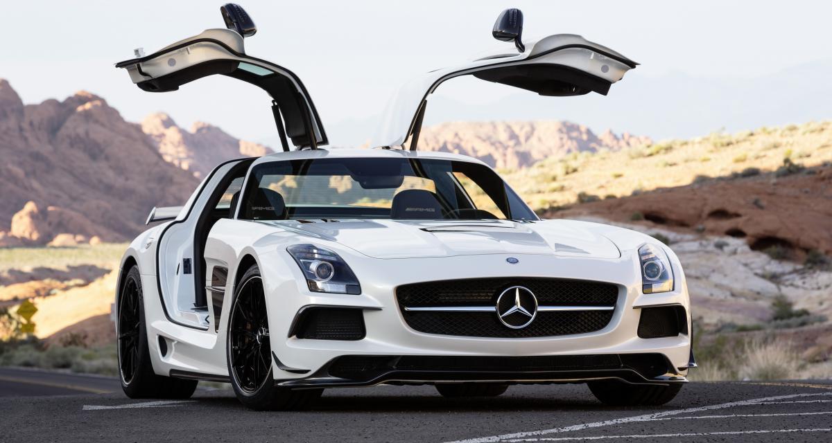 Un défenseur d'Arsenal se fait plaisir et envoie sa Mercedes SLS subir quelques petites modifications