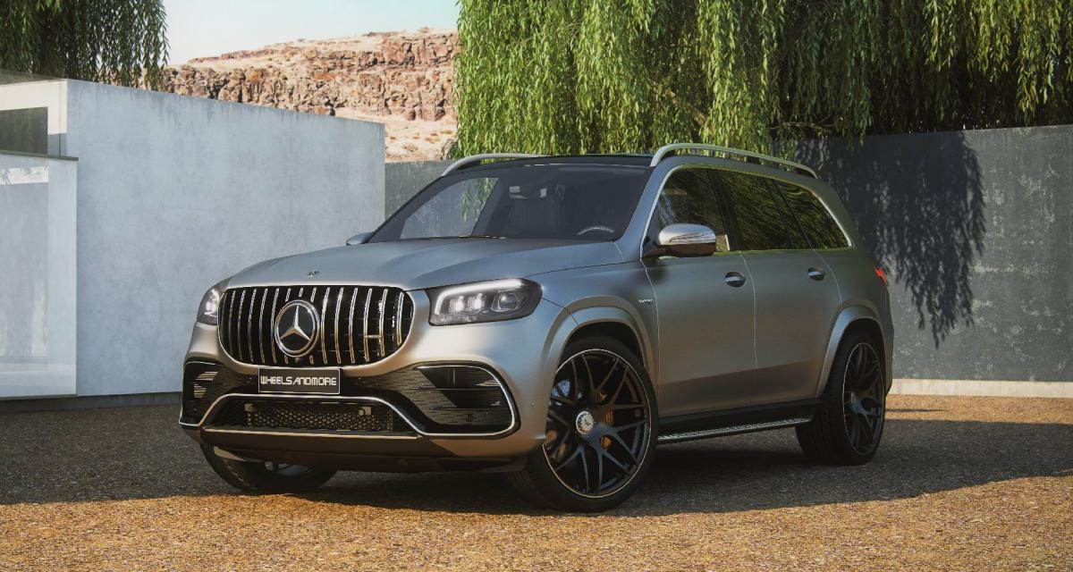 920 ch et des jantes de 24 pouces pour le Mercedes-AMG GLS 63 tunné par Wheelsandmore