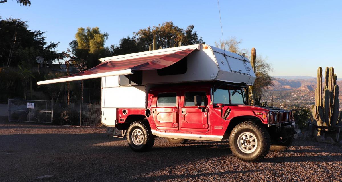 Hummer H1 : le monstre transformé en camping-car
