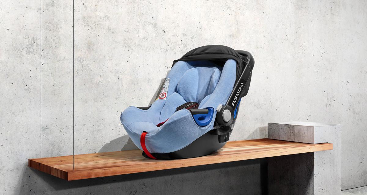 Sécurité et luxe pour bébé dans la voiture avec les nouveaux sièges auto de Porsche