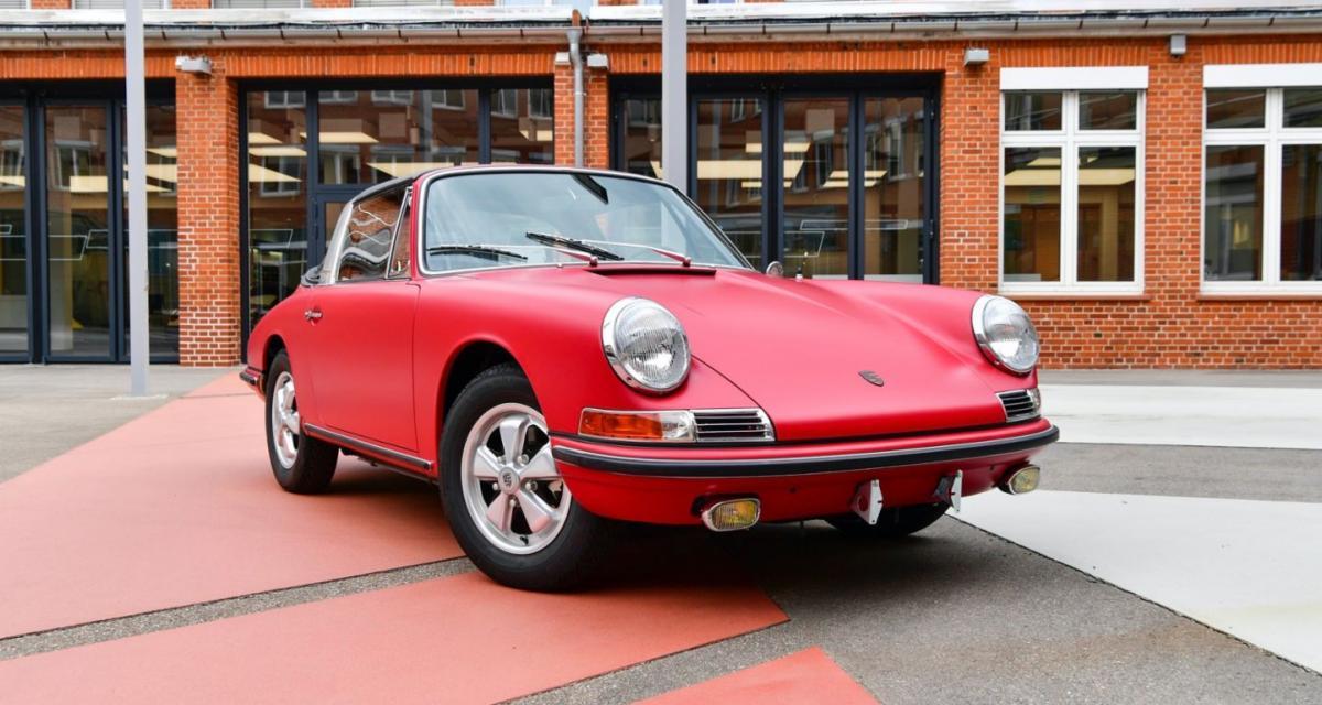 Magnifique restauration pour cette Porsche 911 S Targa sortie de grange