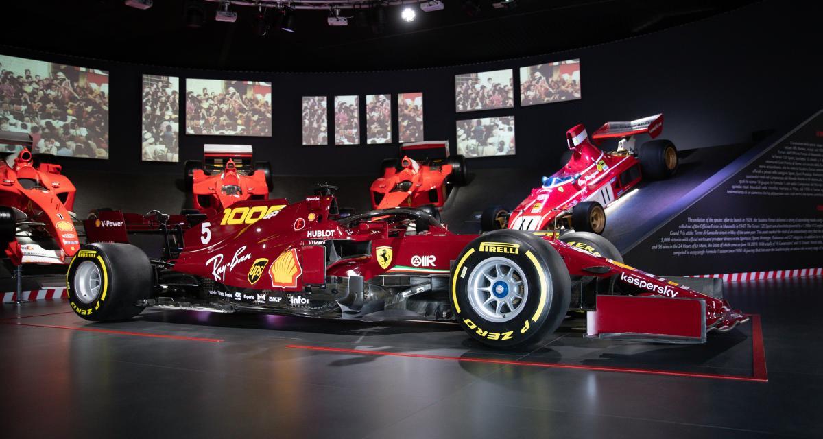 La Ferrari du 1000e Grand Prix de F1 aux enchères : les photos de la réplique taille réelle