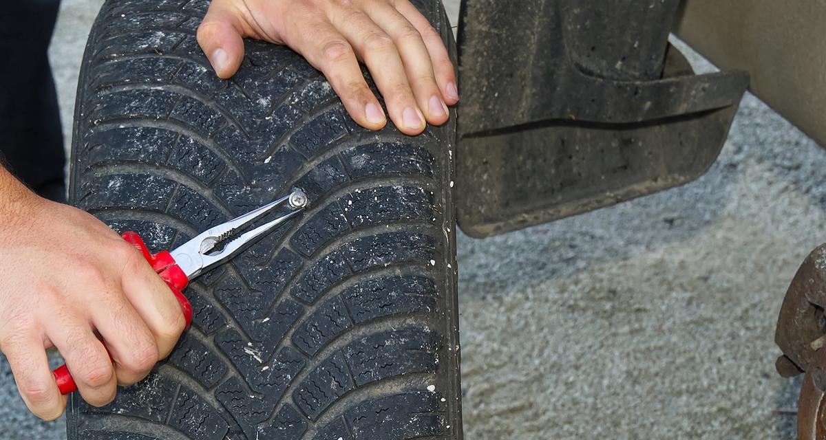 Crevaison : 3 choses à savoir avant de réparer un pneu