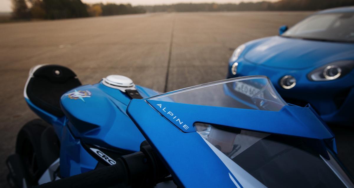 MV Agusta Superveloce Alpine : une moto en série limitée inspirée par la berlinette