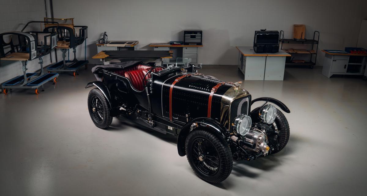 Bentley Blower Car Zero : le premier prototype de la série Continuation prend la route