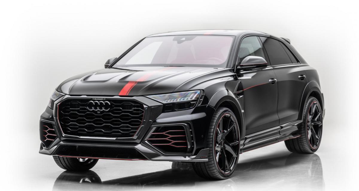 Audi RS Q8 by Mansory : le côté obscur du flamboyant SUV Coupé