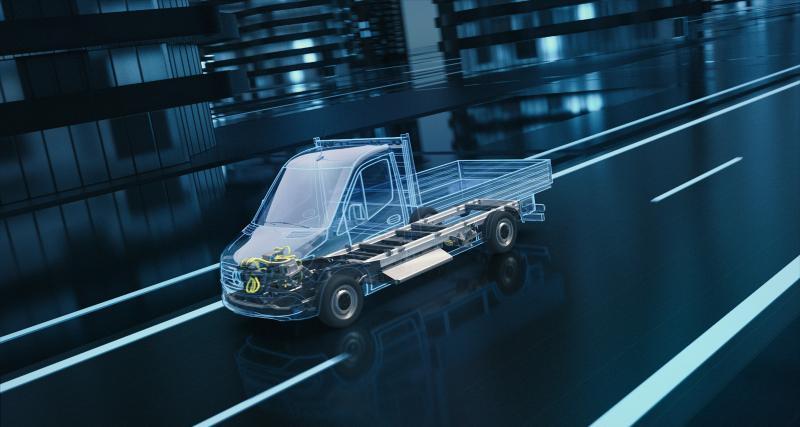 Mercedes-Benz Vans : 350 millions d'euros d'investissement pour les futurs VUL électriques