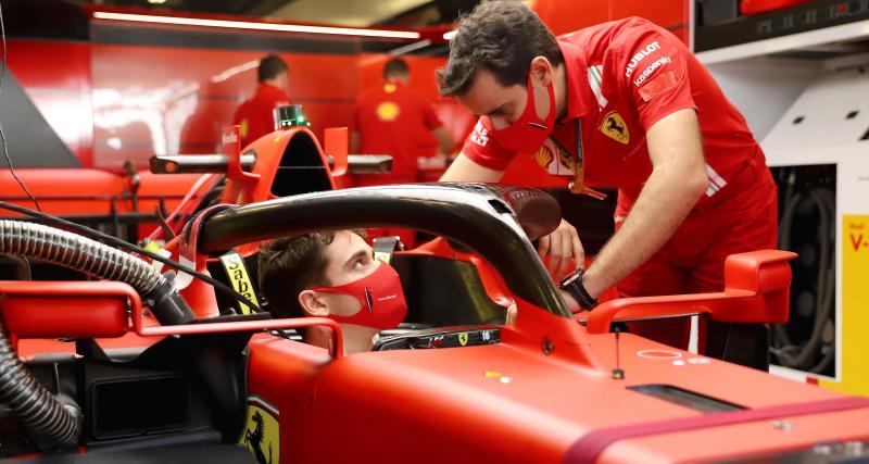 «Danke Seb» : Charles Leclerc dédicace son casque à Vettel pour son dernier Grand Prix chez Ferrari