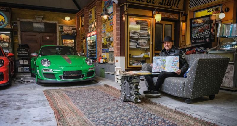 Une collection de Porsche incroyable chez un amateur autrichien de 80 ans