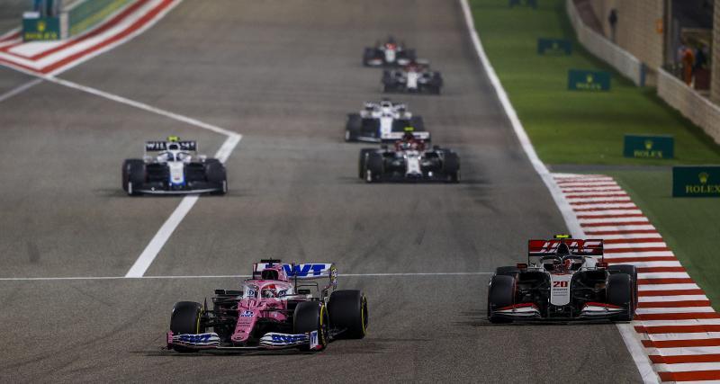 GP d'Abu Dhabi de F1 : le départ en vidéo