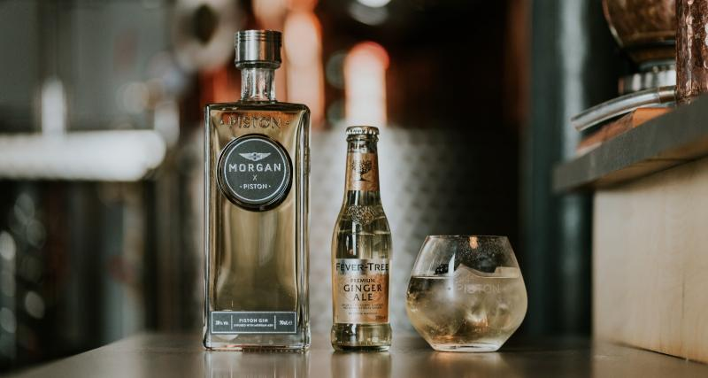 Morgan se lance dans la production de gin avec ses déchets de bois