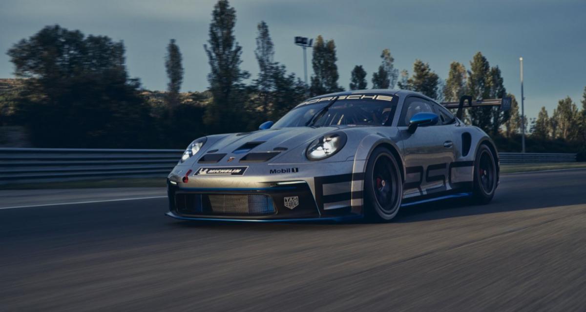 La nouvelle Porsche 911 GT3 Cup en photo