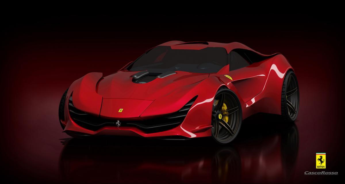 CascoRosso, les photos de la Ferrari du futur
