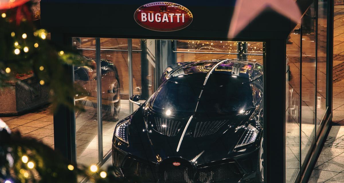 La voiture la plus chère du monde exposée en plein centre-ville en Alsace