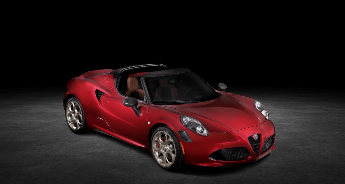 Alfa Romeo rend hommage à la 33 Stradale, les photos de l'Alfa Romeo 4C Spider 33 Stradale Tributo
