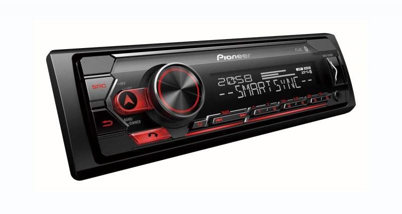 Pioneer commercialise un autoradio Bluetooth USB à prix canon