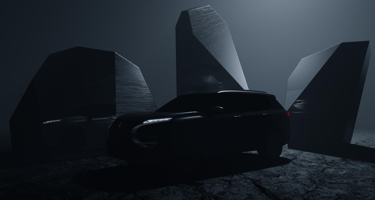 Mitsubishi Outlander PHEV (2021) : première image pour le futur SUV hybride rechargeable
