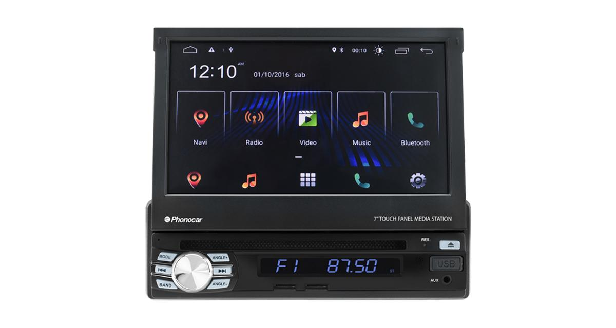 Phonocar commercialise un autoradio 1 DIN fonctionnant sous Android