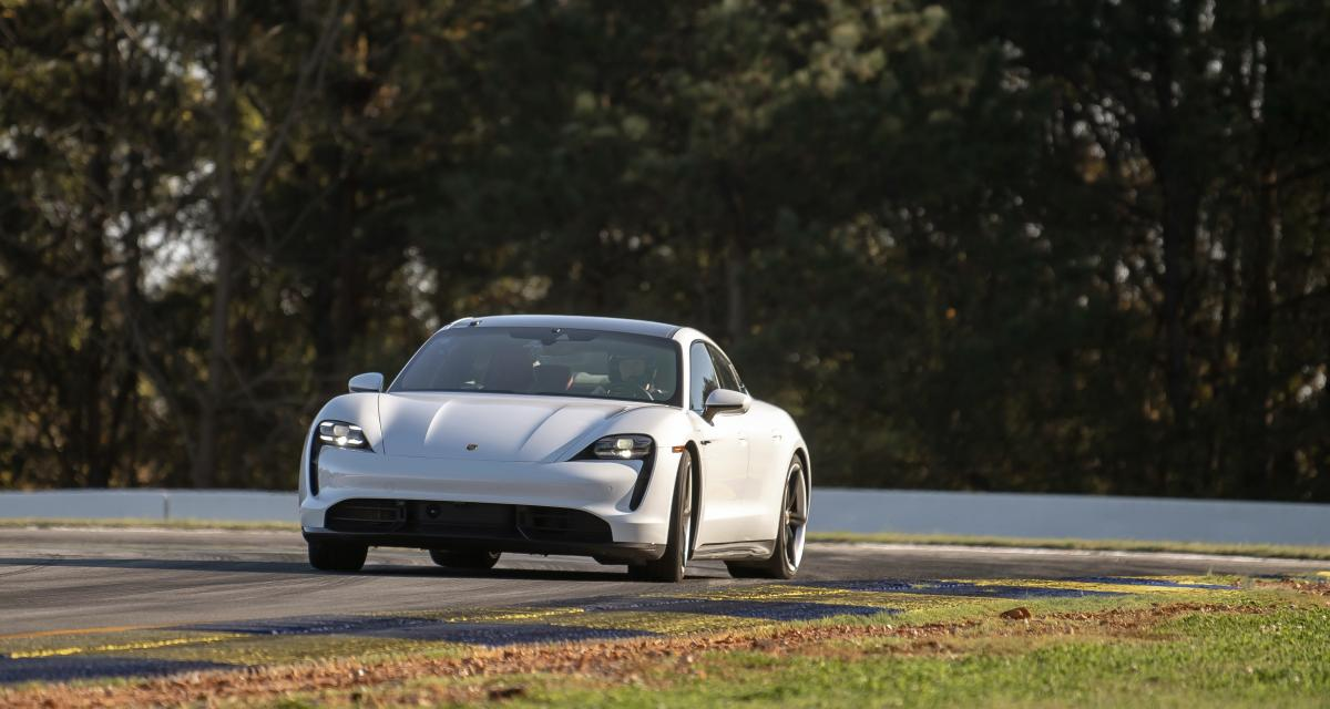 Le Porsche Taycan Turbo S ajoute un nouveau record à son palmarès (vidéo)
