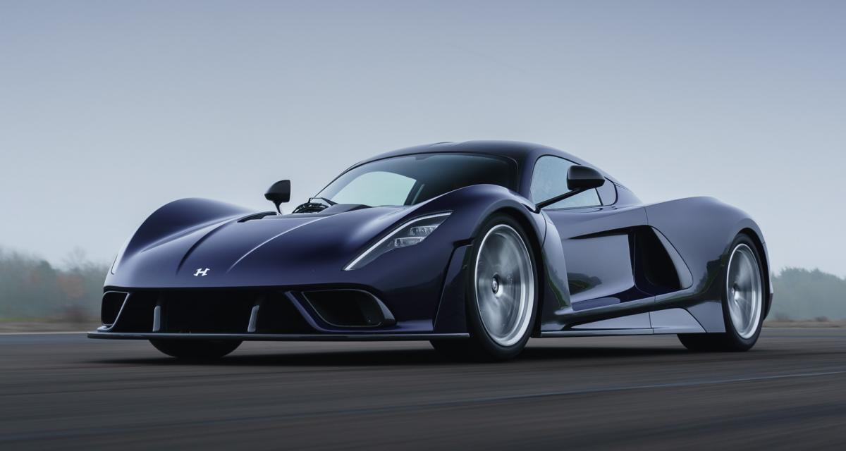 500 km/h et 2,1M$ pour la nouvelle fusée roulante de Hennessey, la Venom F5