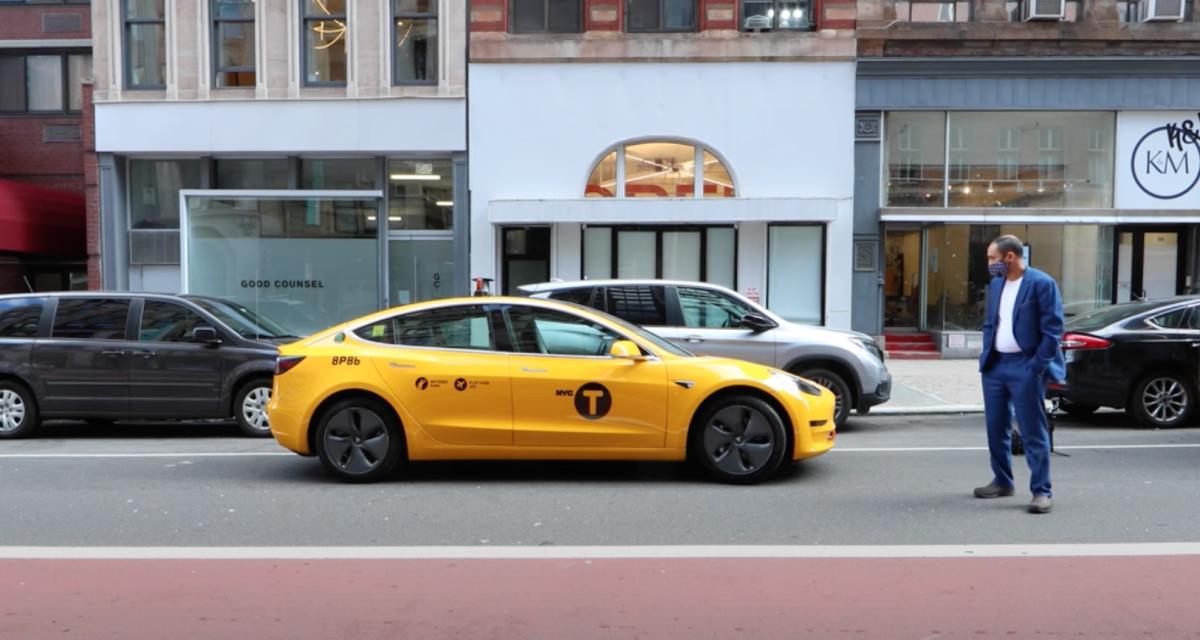 Ça ressemble à quoi de voyager dans une Tesla Model 3 comme taxi à New-York ? (vidéo)