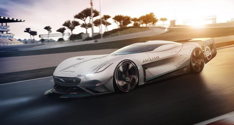 Jaguar Vision Gran Turismo SV : un prototype de 1900 ch qui n'est pas seulement virtuel
