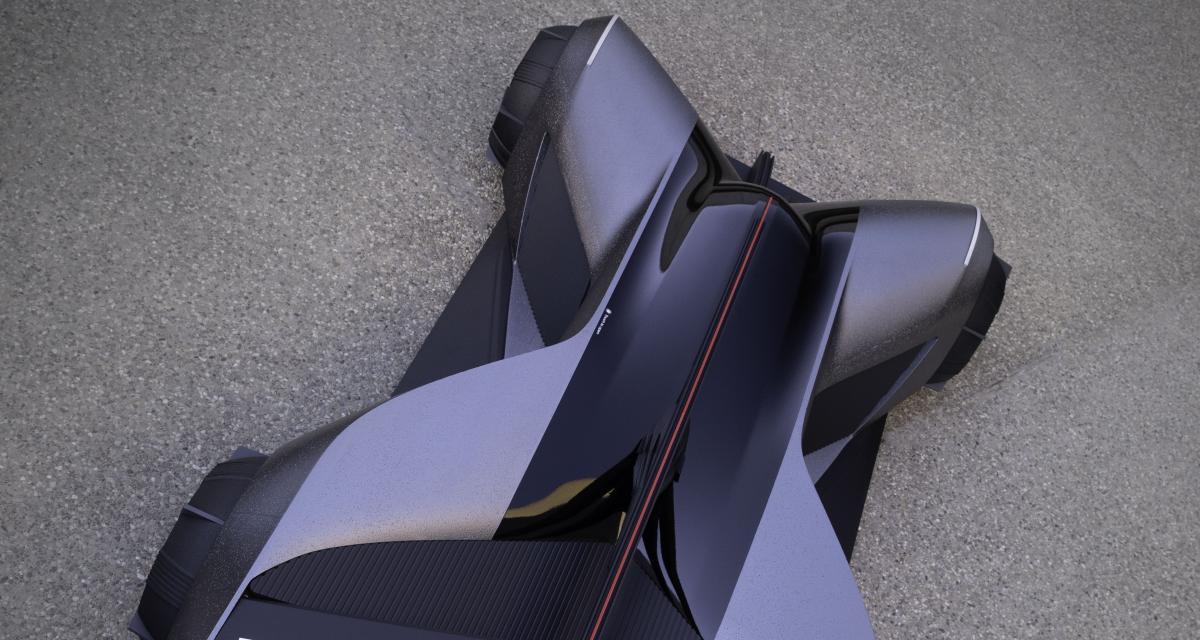 Nissan GT-R (X) 2050 : la voiture du futur qui se porte comme un vêtement