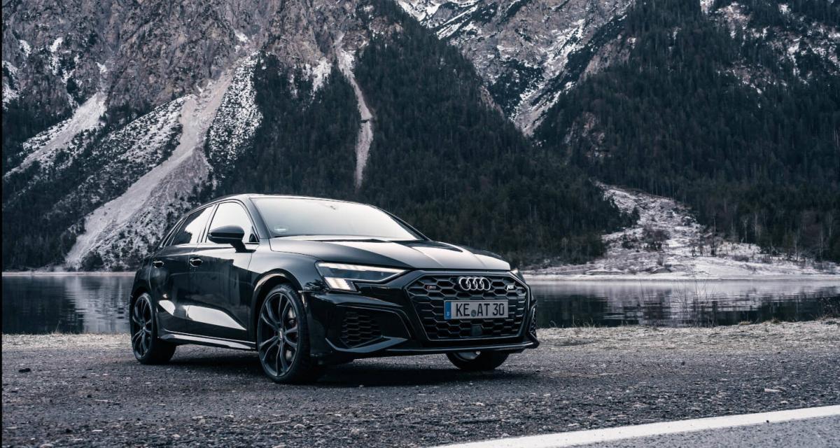 ABT s'attaque à la nouvelle Audi S3, les photos de la compacte modifiée