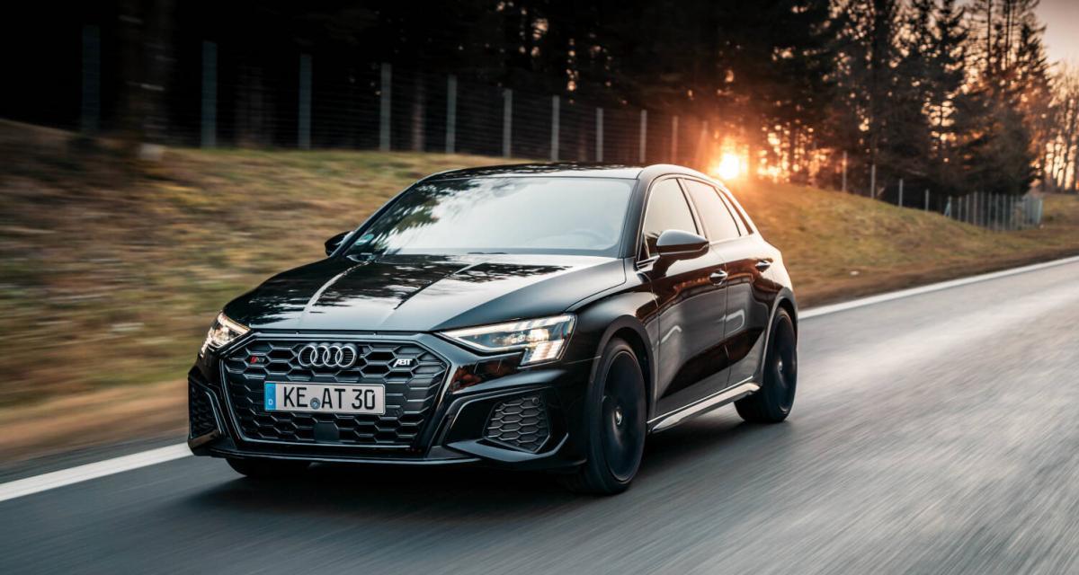 La nouvelle Audi S3 2.0 TFSI poussée à 370 chevaux par ABT