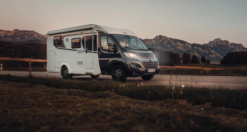 Le camping-car Carado V132, un profilé pour les amoureux