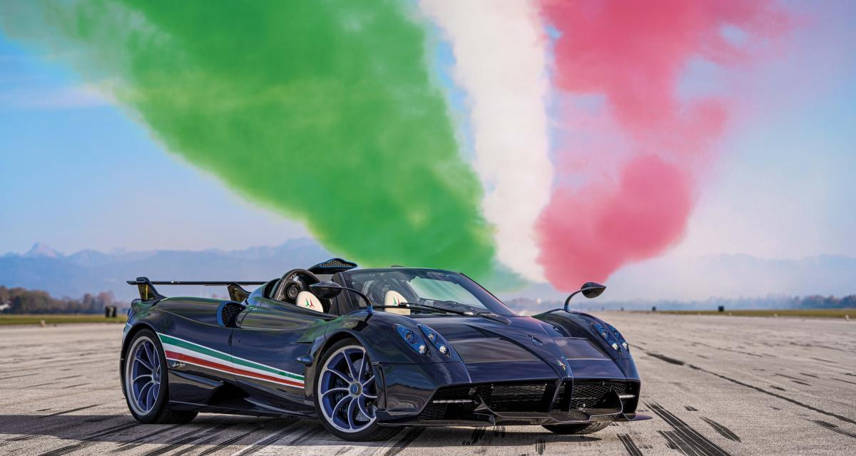 Pagani Huayra Tricolore : la supercar italienne en 6 points