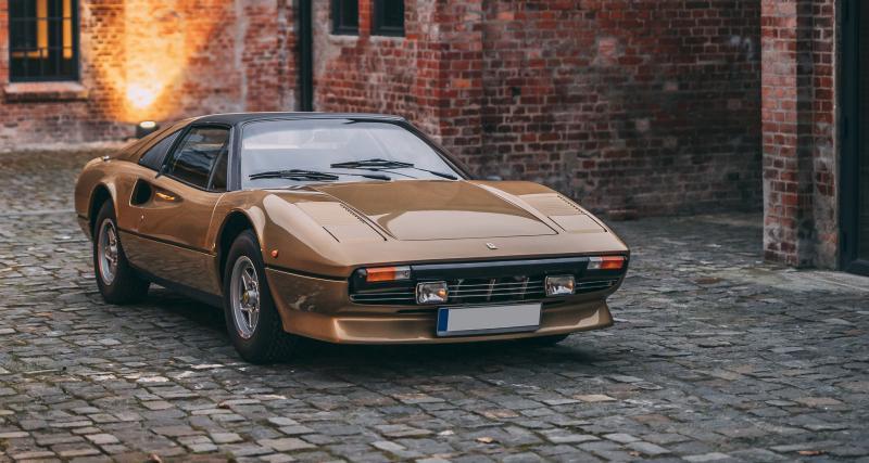 """Porsche, Ferrari… des paillettes plein les yeux avec les grands classiques de """"The Gold Collection"""""""