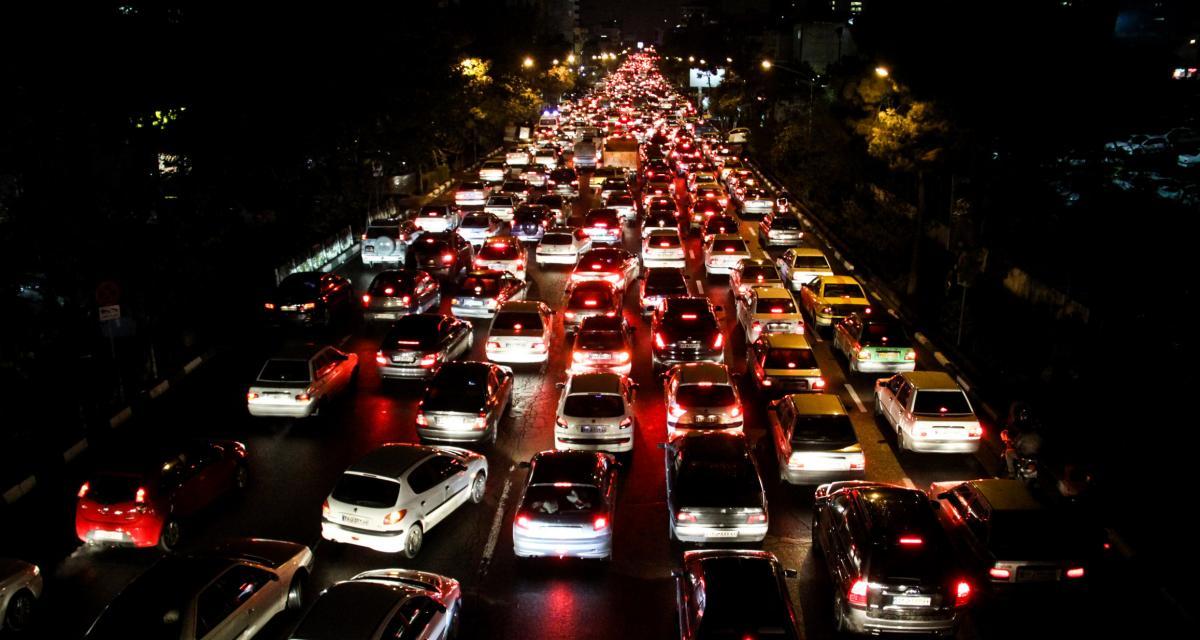 Un immense embouteillage au Japon bloque certains automobilistes pendant près de 40 heures